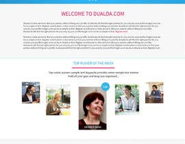 #27 for Homepage redesign for dualda.com by gaf001