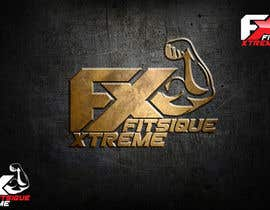 #128 para Design a Logo for FITSIQUE Xtreme por kingryanrobles22