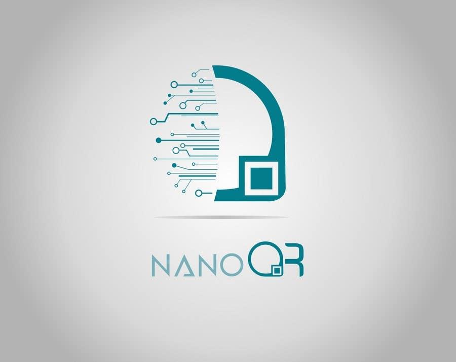 Kilpailutyö #128 kilpailussa Logo Design for NanoQR LLC, Paris