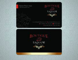 #43 para Design some Business Cards for Boutique liquor por arfangkr