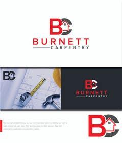 marts53 tarafından Burnett Carpentry Logo için no 45