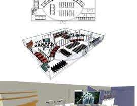 #7 untuk Architectural Floorplan Layout for PolarPointe Business Cafe oleh elyanj04