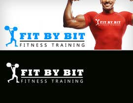 #47 para Logo design for Fit By Bit personal and group fitness training por RBM777