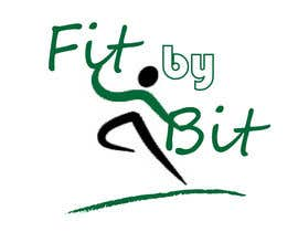 #27 para Logo design for Fit By Bit personal and group fitness training por ikamitrov