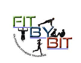 #31 para Logo design for Fit By Bit personal and group fitness training por sparks3659