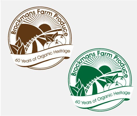 #91 for Design a Logo for an Organic Farm by MBBrodz