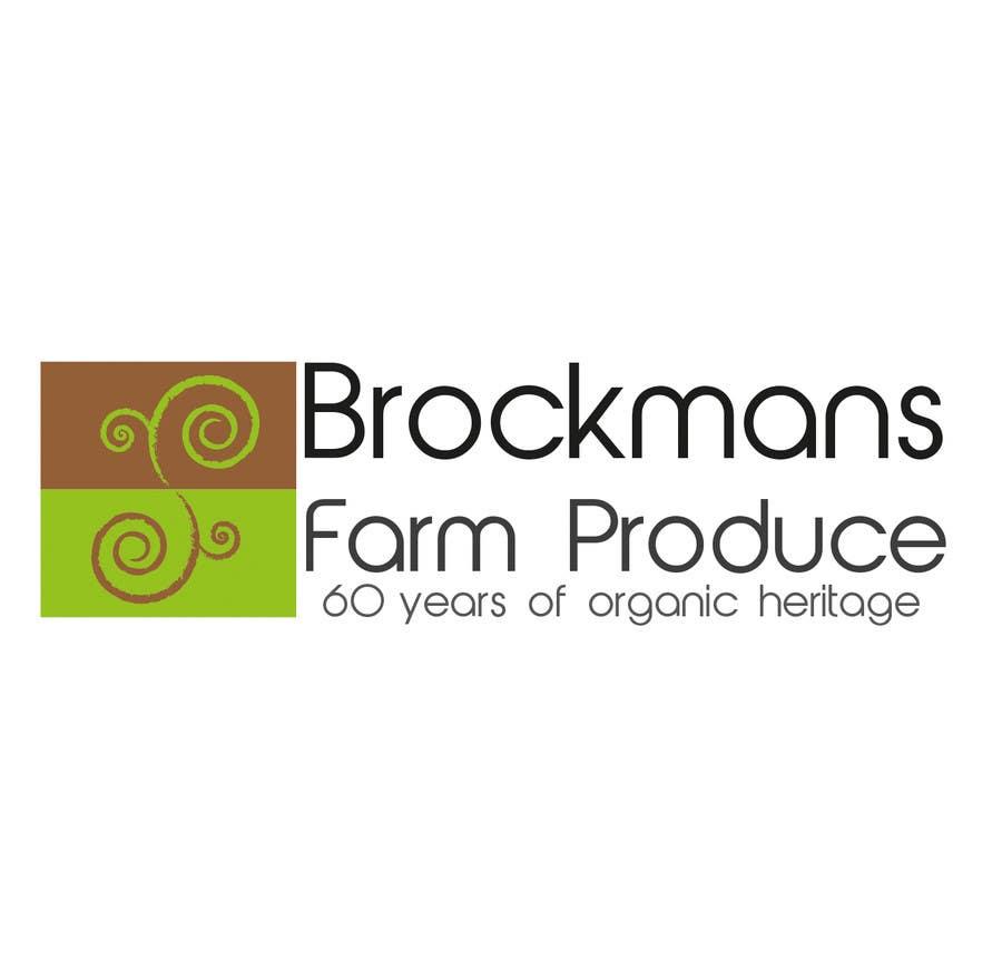 #95 for Design a Logo for an Organic Farm by Mravata