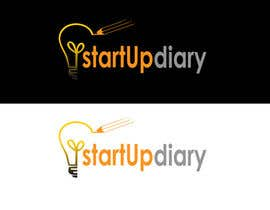 #39 for Urgent: Design a Logo for Startup Diary blog by mirna89