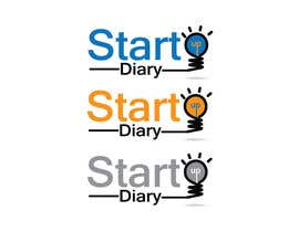 #36 for Urgent: Design a Logo for Startup Diary blog by ffarukhossan10