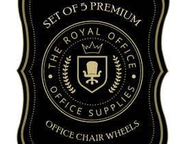 """Nro 68 kilpailuun design a label for a luxury office brand called """"The royal office"""" käyttäjältä madhyastudio"""