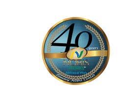 Nro 204 kilpailuun 40th Anniversary Logo käyttäjältä rikh08