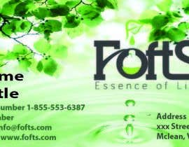 #4 for Business Card for Essential oil company af des10