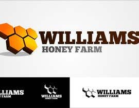 #71 para Design a Logo for Williams Honey Farm por okasatria91