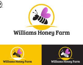crossartdesign tarafından Design a Logo for Williams Honey Farm için no 38