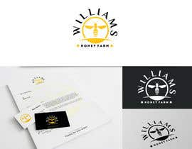#86 para Design a Logo for Williams Honey Farm por crossartdesign