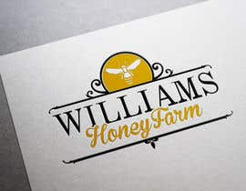 #91 para Design a Logo for Williams Honey Farm por BiancaN