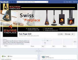 #13 for Design a Facebook landing page for my company selling Fireplaces by ahmedzaghloul89