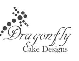 tadadat tarafından Design a Logo for Dragonfly Cake Design. 1/2 done already için no 7