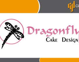 #20 untuk Design a Logo for Dragonfly Cake Design. 1/2 done already oleh CasteloGD
