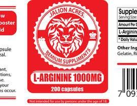briangeneral tarafından Supplement Label Design için no 4