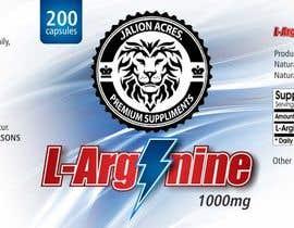 ssergioacl tarafından Supplement Label Design için no 8
