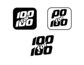 """Nro 52 kilpailuun Logo / Icon / Lapel Pin - """"100 for 100"""" käyttäjältä prakash777pati"""