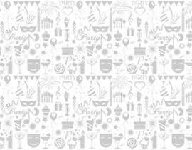 Nro 20 kilpailuun Design a background with party icons käyttäjältä winkeltriple