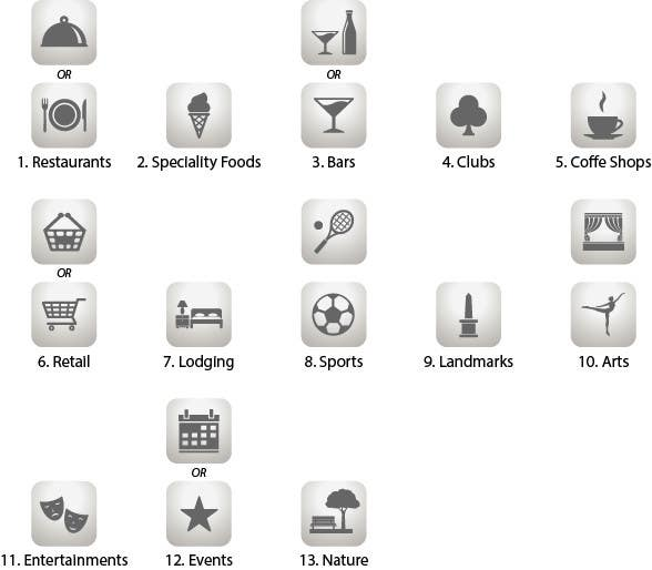 #2 for Design some category icons for my iPhone app by Rendra5