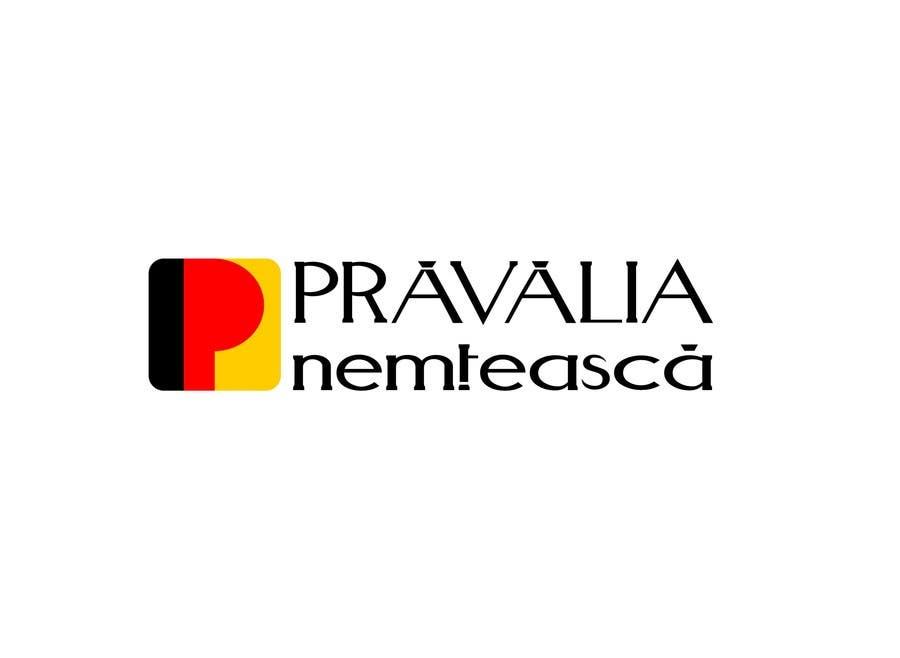 Penyertaan Peraduan #44 untuk Realizează un design de logo for Pravalia Nemteasca
