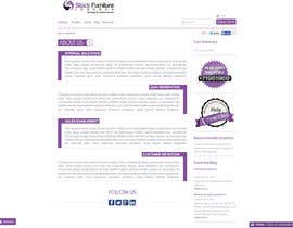 #2 para Creative and Talanted designs needed for Stock Furniture About US page. por pirgo