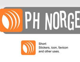 #9 para Design a logo for PH Norge por eytu