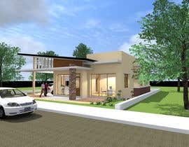 #34 for one story house design by SaiSengMain