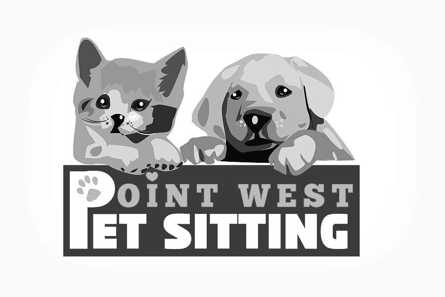 Kilpailutyö #                                        685                                      kilpailussa                                         Logo Design for Point West Pet Sitting