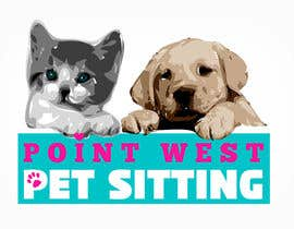nº 637 pour Logo Design for Point West Pet Sitting par tarakbr