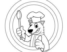 #50 para Restaurant Logo Design - drawing a wombat whos a chef! por GreenAndWhite