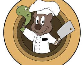 #48 for Restaurant Logo Design - drawing a wombat whos a chef! by allentmatthews