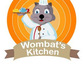 #27 for Restaurant Logo Design - drawing a wombat whos a chef! by samuelsz
