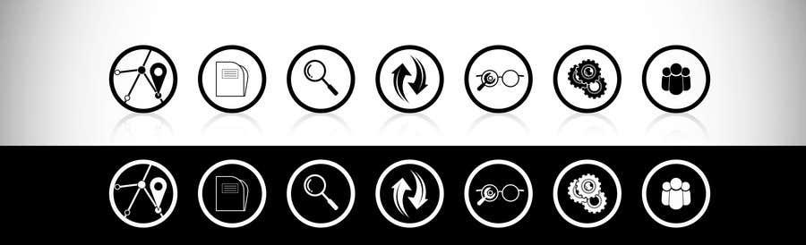 Bài tham dự cuộc thi #11 cho Re-design 7 icons for A.S.T.R.A