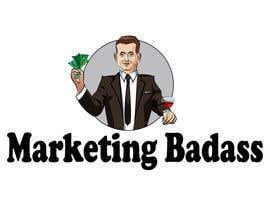 """Nro 11 kilpailuun Logo Design """"Marketing Badass"""" - Cartoon of Me käyttäjältä Tszocske"""