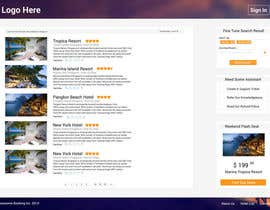 #15 cho Hotel booking website mockup bởi MrVoon