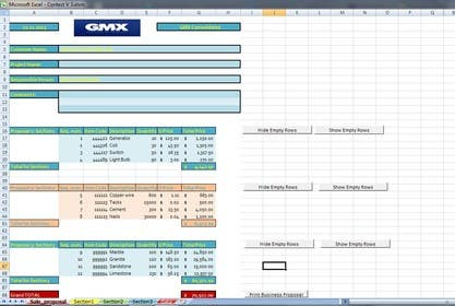 #5 for Excel File to Build Proposals by wtreymacyucy
