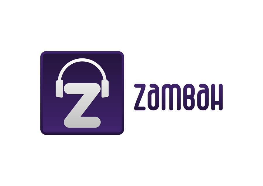 Kilpailutyö #25 kilpailussa Design a Logo for Zambah app
