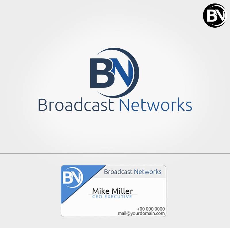 Kilpailutyö #156 kilpailussa Design a Logo for Broadcast Networks, LLC.