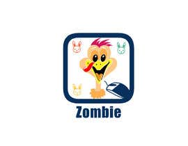 #13 para Design a Zombie Themed logo for a mousepad por adnanbahrian