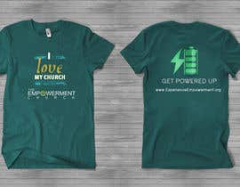 #13 para Design a T-Shirt for The Empowerment Church por reblien