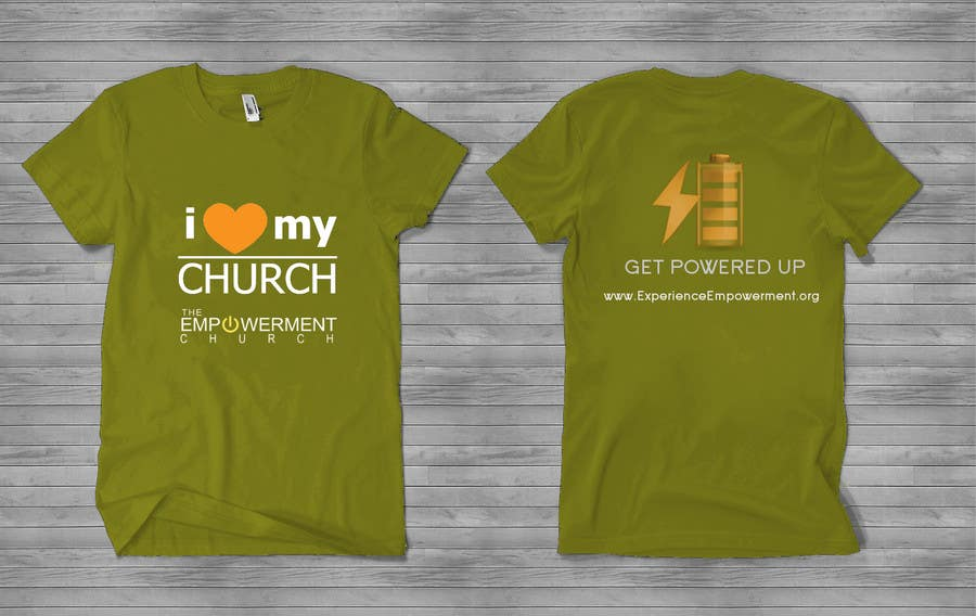 Proposition n°17 du concours Design a T-Shirt for The Empowerment Church
