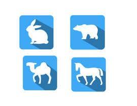 Nro 7 kilpailuun Design some Animal Icons käyttäjältä DJMK