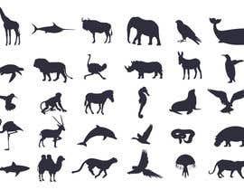 Nro 16 kilpailuun Design some Animal Icons käyttäjältä blackdahlia24