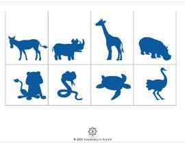 Nro 6 kilpailuun Design some Animal Icons käyttäjältä laurentiufilon