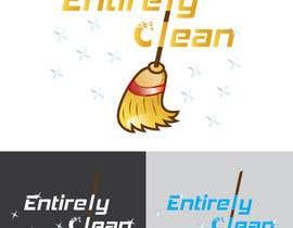 Nro 28 kilpailuun Design a Logo and Business Card for Cleaning Company. käyttäjältä Warna86